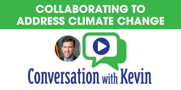 Conversation with Kevin - Collaborating to Address Climate Change