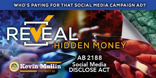 Reveal Hidden Money - AB 2188