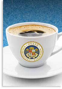 Image of Coffee Cup With Assembly Seal