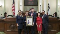 Assemblyman Mullin Honors Woman of the Year Rev. Dr. G. Penny Nixon at the Capitol